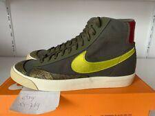 Nike Blazer Mid 77 Womens Medium Olive Lemon Green CZ0462-200 11 11.5 12 yellow