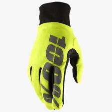 Gants jaunes taille L pour motocyclette Homme