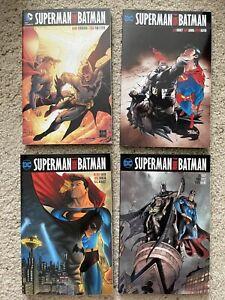 Superman Batman TPB Vol 3 4 5 6.