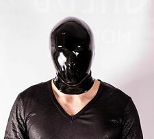 Latex Mask Nose Only Rubber Mask Polymorphe Fetish Latex Mask With Back Zip A-04
