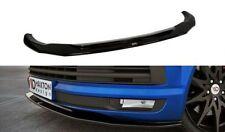 Taza Spoiler Frontal Difusor Enfoque Delantero Negro Alto Brillo VW T6 V.2