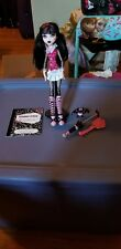 Monster High Draculaura First Wave Doll & Outfit Pet Umbrella Lot