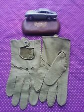 Stylish Vintage Leather Driving Gloves.Scooter,italian Ivy Mod Sports Car.Small