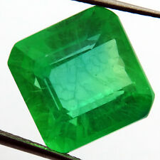 EMERALD CHATHUM 10.40 ct MARVELOUS COLOMBIAN GREEN LOOSE SQUARE12X11.03MM
