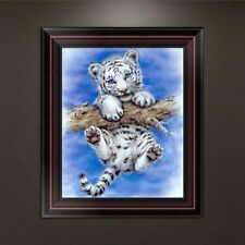 DIY 5d Diamond Embroidery Cute Tiger Painting Stitch Craft Home Decor