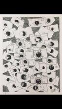 """FERNANDEZ ARMAN LITOGRAFIA FIRMATA 99 ex.del 1989.Titolo:""""CAMERA"""""""