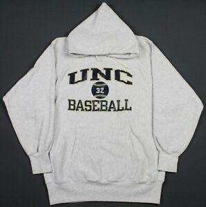 University Northern Colorado Baseball VTG USA Champion Reverse Weave Hoodie 2XL