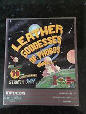 Leather Goddesses of Phobos - Atari ST - w/3D Comic Book and Glasses
