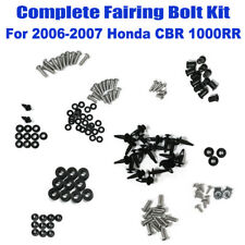 144pcs Complete Fairing Bolt Kit Body Screws Set For HONDA 2006 2007 CBR 1000RR