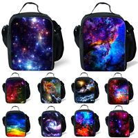 Galaxy Storage Box Tote Portable Insulated Picnic Bag Shoulder Cooler Lunch Bag