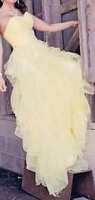 Yellow Prom Dress Size 2 To 4