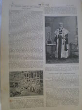 Photo article cecil rhodes visit to Cotopaxi Gold Mine Mashonaland 1894 my Ref R
