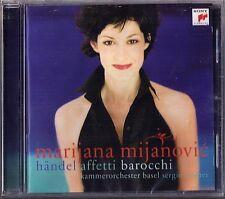 Marijana MIJANOVIC: HANDEL AFFETTI BAROCCHI Orlando Rodelinda Radamisto Siroe CD