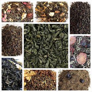 Green Tea Organic - choose flavor, loose leaf or tea bags Premium Green Teas