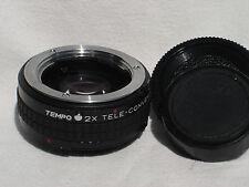 TEMPO MC 2X TELE Converter lens for MINOLTA MD mount cameras