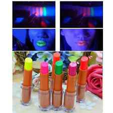 1xWomen Bar KTV Club Disco Lip Fluorescent Luminous Glow in The Dark Lipsticks