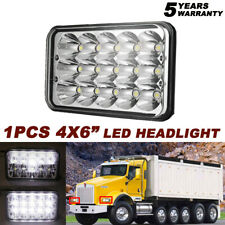 """DOT Approved 45W 4x6"""" Sealed Beam Led Headlight For Ford Chevrolet GMC Kenworth"""