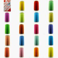 ** 100m Lesur satén de poliéster hilado (120's) carretes de hilo de Coser/112 Colores