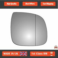 Right Driver Wide Angle Wing Mirror Glass for VW Transporter T5 2010-2015 184RAS