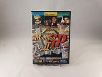 AYRTON SENNA'S SUPER MONACO GP II 2 SEGA MEGA DRIVE GIAPPONESE IMPORT NTSC-J JAP