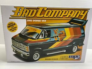 MPC 1:25 Scale Bad Company 1982 Dodge Van Special Reissue Boxed Model Kit NoRes
