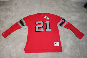 Mitchell & Ness NFL Name & Number Longsleeve Deion Sanders XL