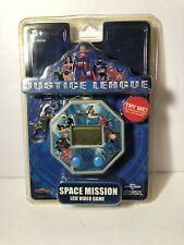 Justice League Cartoon Network Space Mission Key Chain LCD Video Game Techno Sou