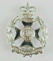 The Leeds Rifles Military Staybrite Anodised Cap Badge - JR Gaunt London