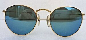 NEW OLD STOCK RAY BAN B&L ARISTA EXCLUSIVE SUNGLASSES W1861 BLUE MIRROR 50mm
