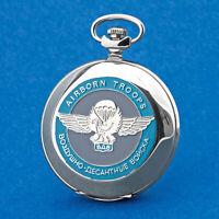 Pocket Watch Molnija 3602 Airborne Aviator Parachutist WDW Russia Aviator
