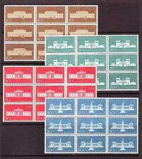 GERMANY/WEST - SG1524-1527 MNH 1970 OLYMPIC GAMES - BLOCKS OF 9