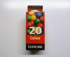 Lexmark 20 color x85 x125 x4200 z42 z43 z44 z45 z51 z52 -- garantía -- embalaje original/O.V.