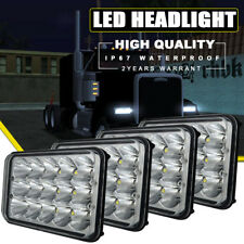 4x6inch LED Truck Headlights 4x6'' Work Pods Projector Headlamps Replacement
