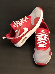 NIKE AIR MAX Tavas -Size-6.5Y-University Red/Gray Ohio State-Colors Nice & Clean