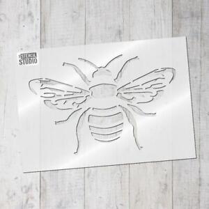 Bee Stencil, Bumble Bee stencil, craft stencils, home decor stencil, 10502