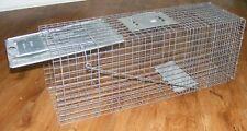 Havahart #1079 Large Varmint Humane Trap, galvanized steel - Mint