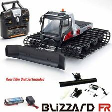 Kyosho Blizzard FR 1/12 EP Belt Snow Vehicle RTR w/ Radio + Rear Tiller Unit Set
