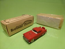 BROOKLIN MODELS 13 FORD THUNDERBIRD 1956  - IN ORIGINAL BOX  - GOOD CONDITION