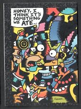 THE SIMPSONS SERIES 2 Skybox 1994 ARTY ART CARD #A1 by MARY FLEENER