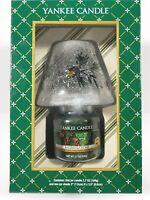 Yankee Candle Holiday Jar Shade Balsam & Cedar Jar Gift Set New In Box