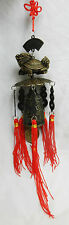 Feng Shui Bell with Dragon Head Turtle and Coins - BNIB