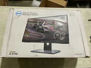 "Dell - S2716DGR 27"" LED QHD G-SYNC 144Hz 1ms Gaming Monitor"