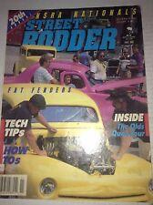 Street Rodder Magazine Fat Fenders Olds Quad Four November 1989 042217nonrh