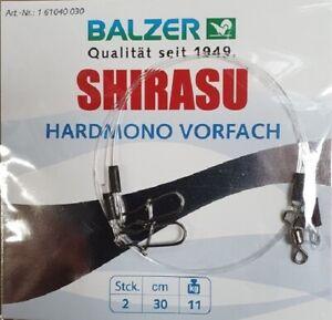 Balzer Shirasu Hardmono Vorfach, 2 x 0,3 m