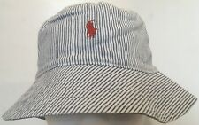 Polo Ralph Lauren Childrenswear Reversible Chambray Hat~Stars/Stripes~Sz 8-20NWT