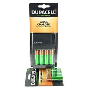 DCH Duracell Charger W/ 8AA , 8 total batteries CEF14DX4N
