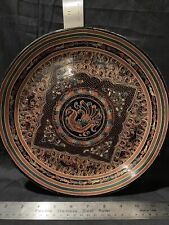 New listing Laquered wooden plate Chinese Antique