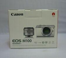 CAMARA DIGITAL - CANON EOS M100 - Negro 24.2 MP Sensor APS-C ISO 100-25600 NUEVA