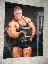 FLEX LEWIS signed BODYBUILDING 8x10 photo MR OLYMPIA ARNOLD CLASSIC protein x