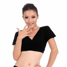 Sexy Lace Belly Dance Dancewear Dancing Blouse Choli Top Bra Costumes Black